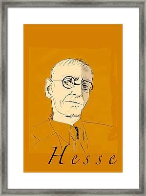 Herman Hesse Framed Print