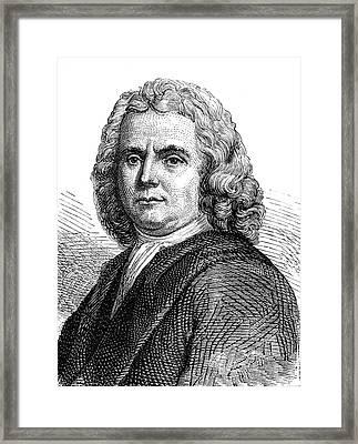 Hermann Boerhaave Framed Print