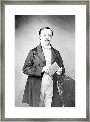 Hermann Helmholtz Framed Print