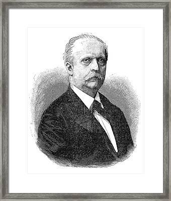 Hermann Von Helmholtz Framed Print by Science Photo Library