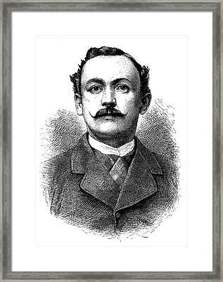 Hermann Von Wissmann Framed Print