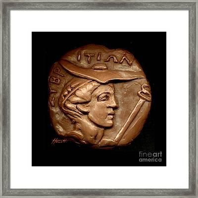 Hermes Or Mercury Framed Print by Patricia Howitt