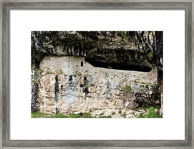 Hermitage Of San Urbez Framed Print by Bob Gibbons