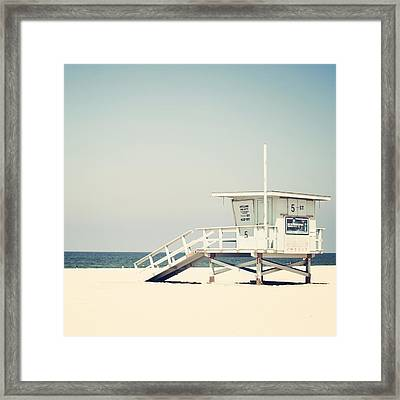 Hermosa Beach  Framed Print by Bree Madden