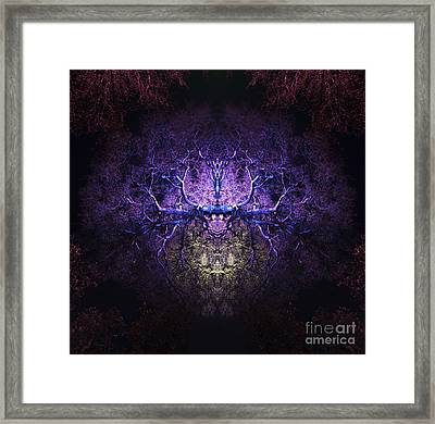 Herne The Hunter Framed Print by Tim Gainey