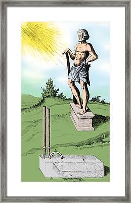 Hero Of Alexandria Framed Print by Science Source