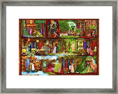 Heroes And Heroines Framed Print by Aimee Stewart