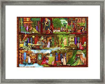 Heroes And Heroines Framed Print