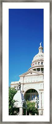 Heroes Of The Alamo Memorial Framed Print by Panoramic Images