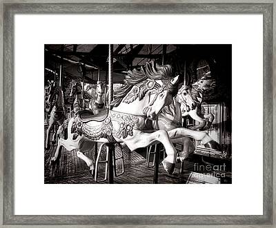 Heroic  Framed Print by Olivier Le Queinec