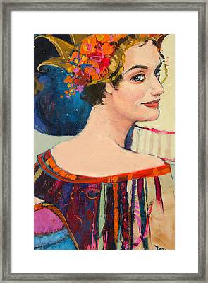 Heroine Framed Print by Jennifer Croom