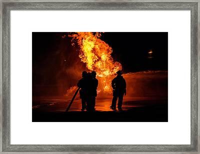 Hero's Framed Print by Sennie Pierson