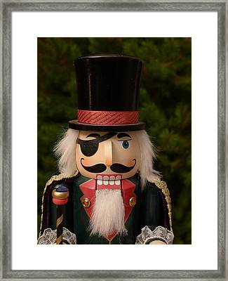 Herr Drosselmeyer Nutcracker Framed Print