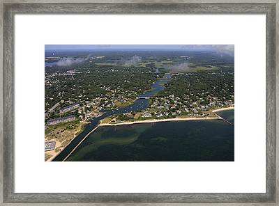 Herring River, Harwich Framed Print