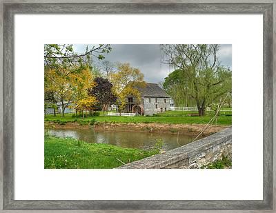 Herr's Mill Framed Print by Dyle   Warren