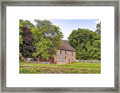 Framed Print featuring the photograph Herr's Mill by Jim Thompson