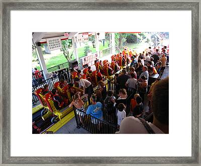 Hershey Park - 121212 Framed Print by DC Photographer