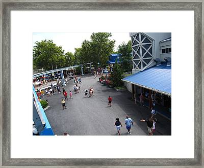 Hershey Park - 12124 Framed Print by DC Photographer