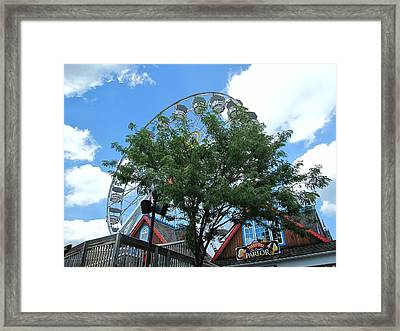 Hershey Park - 121243 Framed Print by DC Photographer