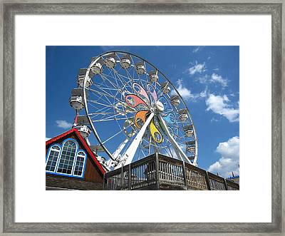 Hershey Park - 121244 Framed Print by DC Photographer
