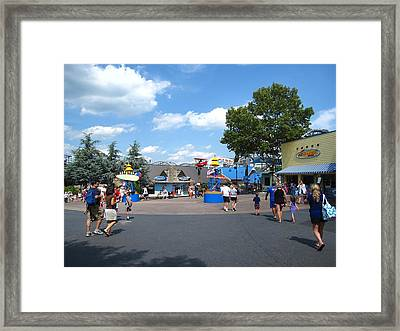 Hershey Park - 121245 Framed Print by DC Photographer