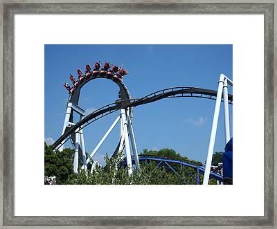 Hershey Park - Great Bear Roller Coaster - 121213 Framed Print