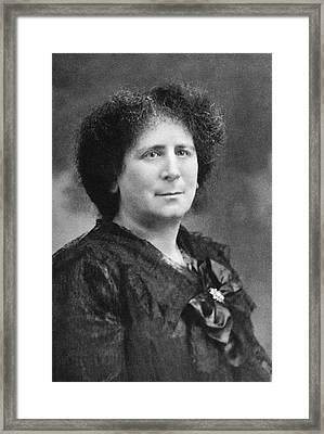 Hertha Marks Ayrton Framed Print by Science Photo Library