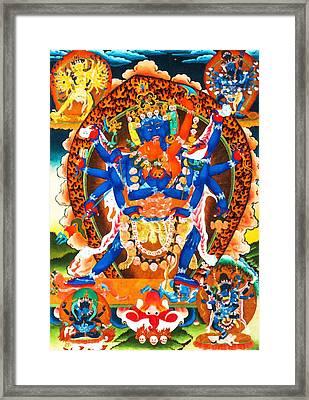 Heruka Framed Print by Lanjee Chee