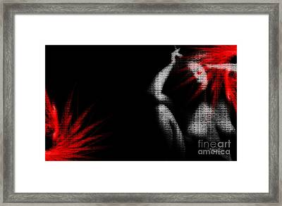 Hesitation Framed Print by Jessica Shelton
