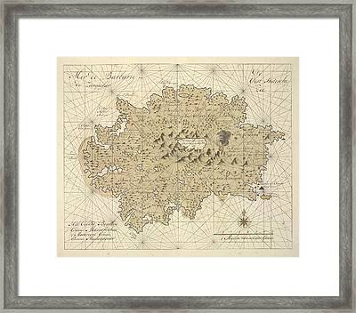 Het Eyland Bourbon Framed Print