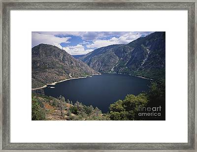 Hetch Hetchy Reservoir Framed Print by Mark Newman