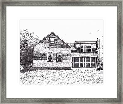 Hettinger Family Farm Framed Print by Michelle Welles