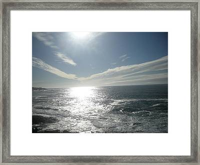 Hevenly Framed Print