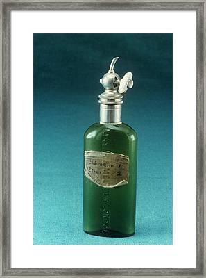 Hewitt Drop Bottle Framed Print