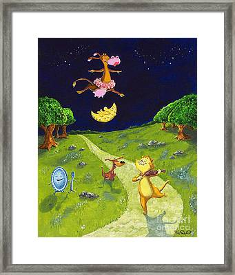 Hey Diddle Diddle Framed Print