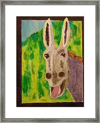 Hey Jack Framed Print by Harold Greer
