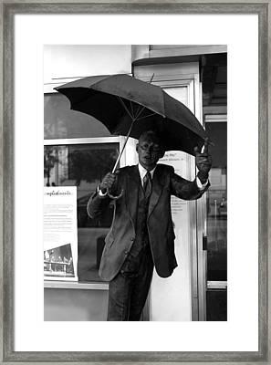 Hey Taxi Framed Print by Dorin Adrian Berbier