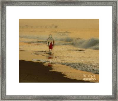 Hey What Happened To Bob Framed Print by Jeff Breiman