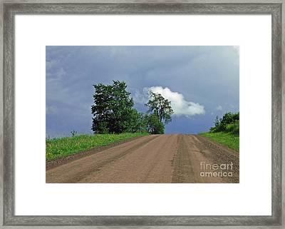 Hezelton Gulley Rd Framed Print