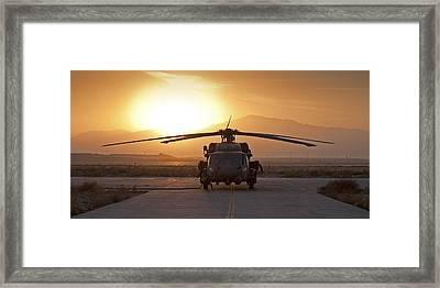Hh-60 Pavehawk Framed Print by Tim Grams
