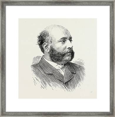 H.h. The Maharaja Duleep Singh Framed Print