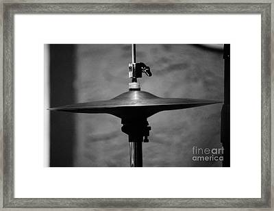 Hi-hat Framed Print by Lynda Dawson-Youngclaus