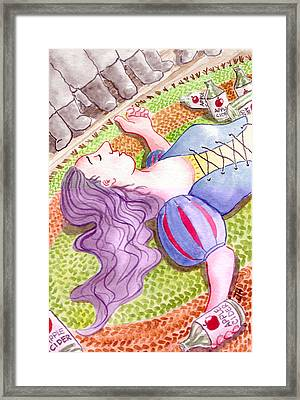 Hi Ho Hi Ho Framed Print by Julie  Hutchinson