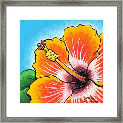Hibiscus 04 Framed Print