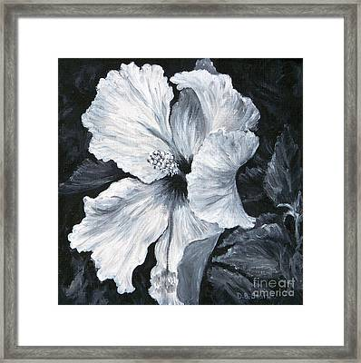 Hibiscus 1 Framed Print