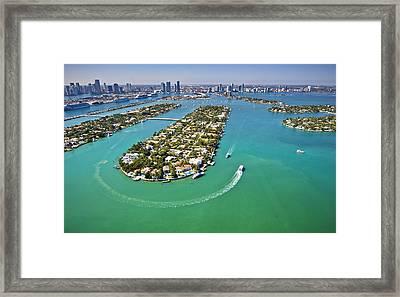 Hibiscus Island Framed Print