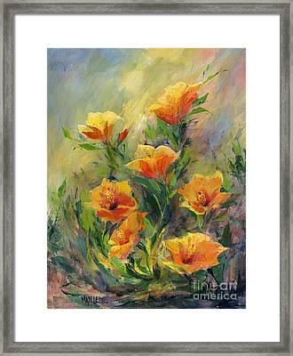 Hibiscus Framed Print by Madeleine Holzberg