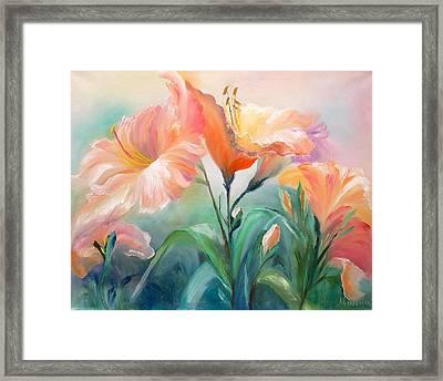 Hibiscus Framed Print by Marina Wirtz