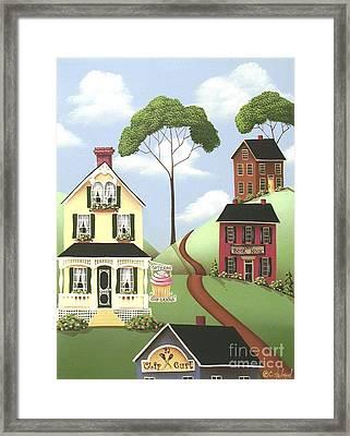 Hickory Grove Framed Print by Catherine Holman