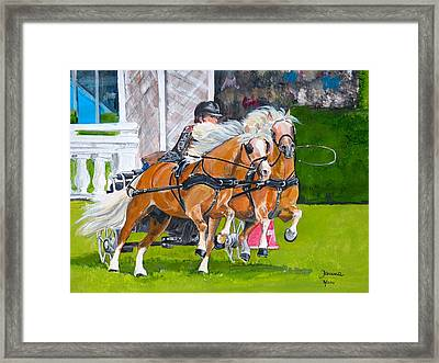 Hickstead  Framed Print by Janina  Suuronen